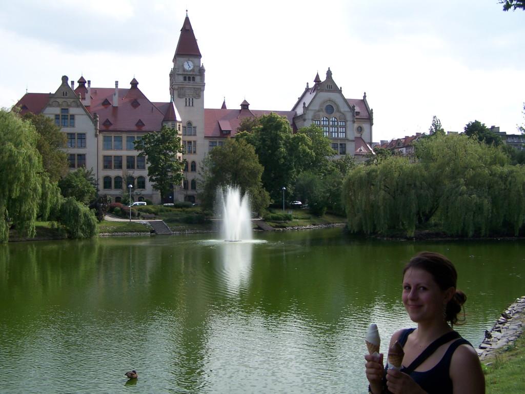Wroclaw park - Polsko