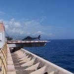 Heliport v Monaku