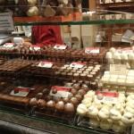 Belgická čokoláda v Bruggy
