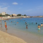 Pláž v Monaku
