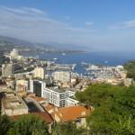 Monako pohled z vrchu