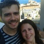 Eliška s Vojtou v Monaku