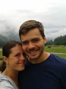 Eliška a Vojta ve Švýcarsku - nomadi