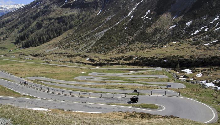 Passo dello Spluga - italie a šýcarsko