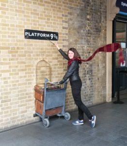 Nástupiště 9 a 3/4 - Harry Potter Londýn